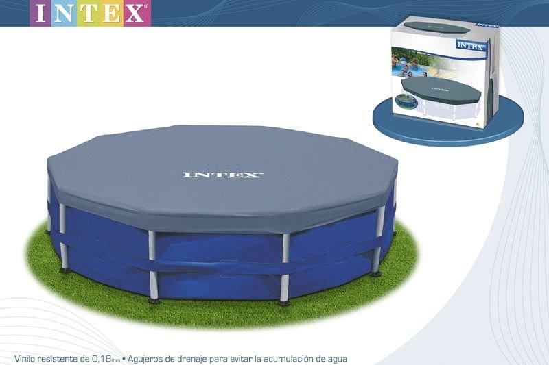 Тент для круглого каркасного бассейна Intex 28031 диаметр 366 см