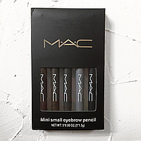 Олівці для брів MAC (Набір з 5 шт) (репліка).