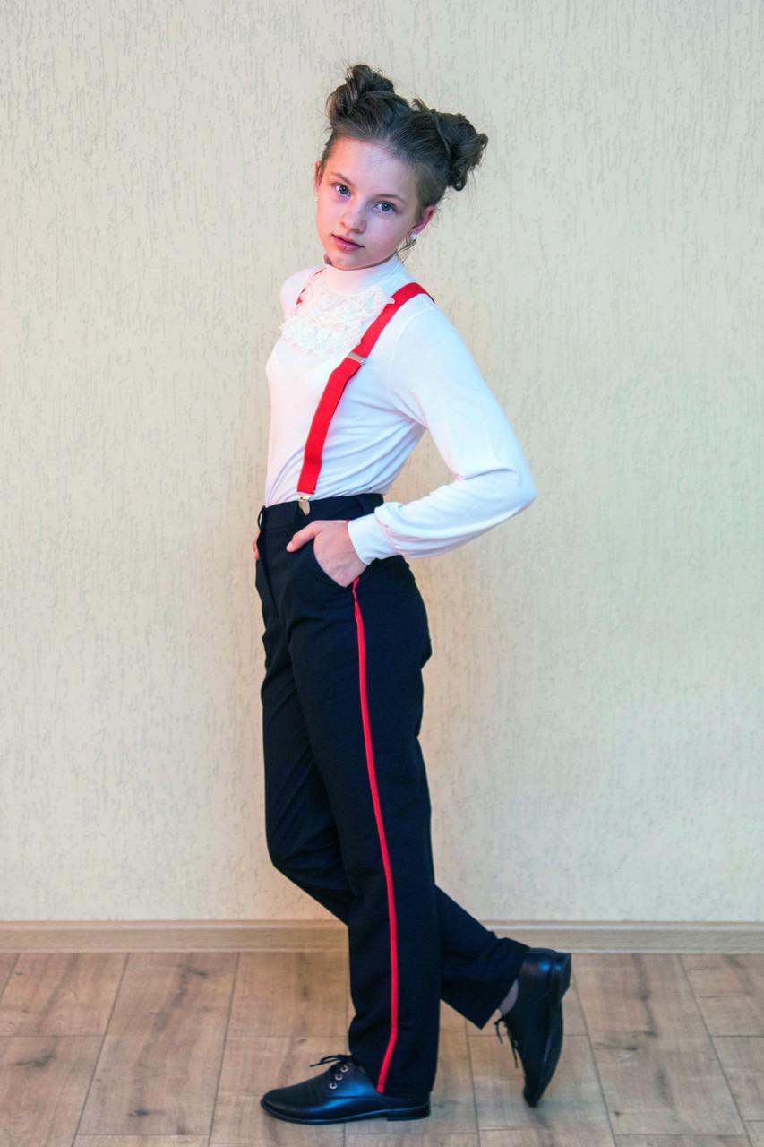 Шкільні штани з лампасами