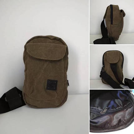 15975e955a91 Текстильная плечевая сумка для мужчин 22*14,5*9 см - Цена 155 грн ...