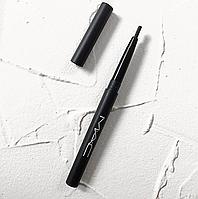 Олівець для брів і очей MAC (чорний) (репліка).