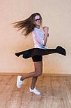 Шкільна спідниця сонце - шорти, фото 2