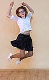 Шкільна спідниця сонце - шорти, фото 3