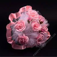 Свадебный букет-дублер для невесты розовый