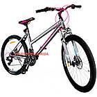 Горный велосипед Crosser Infinity 26 дюймов серый, фото 2