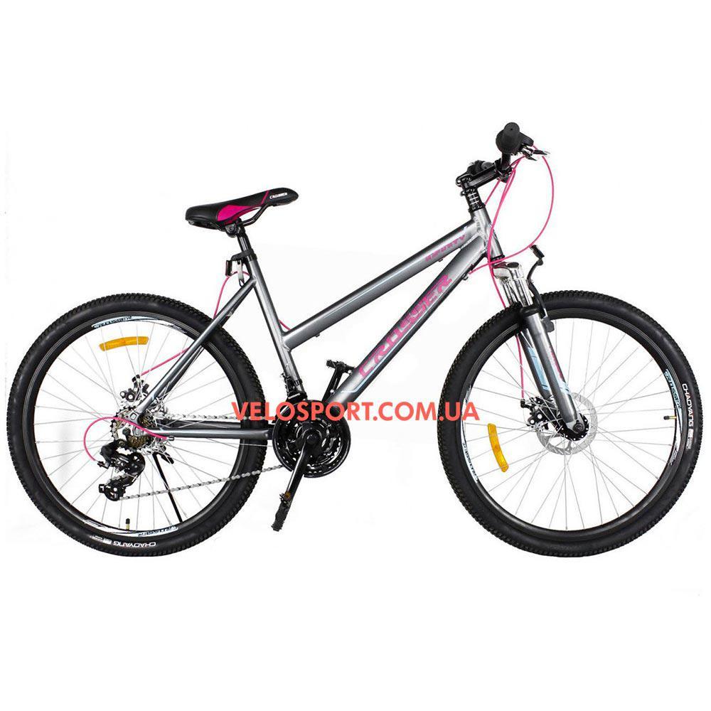 Горный велосипед Crosser Infinity 26 дюймов серый