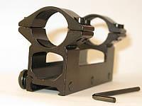 Крепление оптического прицела моноблок Weawer, D 30 мм