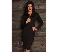 """Платье женское """"City Style"""". Распродажа модели черный, 42"""