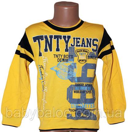 Батник для мальчика на манжете TNTY jeans (от 5 до 8 лет), фото 2