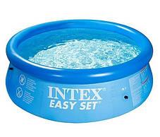 Надувной семейный бассейн Intex 28110 размер 244*76 см, фото 3
