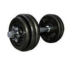 Гантель наборная железная 15 кг LiveUp  DUMBELL SET LS2311-15
