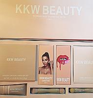 Подарунковий набір KYLIE KKW BEAUTY Persistent Cosmetic Sets 7в1 (репліка).