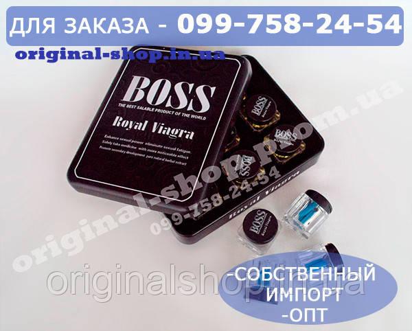 Чоловічий збуджувач для потенції Boss Royal, 27 таблеток