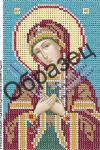 З-216. Схема для вышивки бисером Образ Пресвятой Богородицы Умягчение злых сердец.