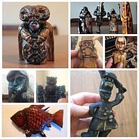Статуетки з дерева