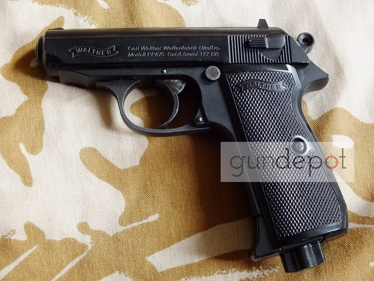 Пневматический пистолет Walther PPK\S