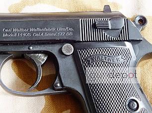 Пневматический пистолет Walther PPK\S, фото 2