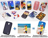 Печать на чехле для Nokia 1 Dual SIM (Cиликон/TPU)