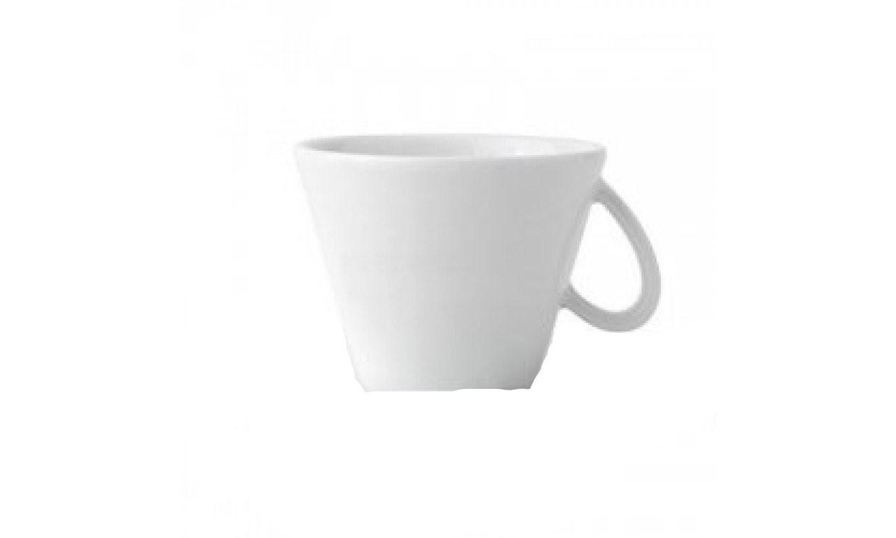 Чашка 190 мл. фарфоровая, белая Cappuccino Milano Centrale, Ancap