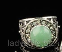 украшения с натуральным нефритом купить кольцо перстень