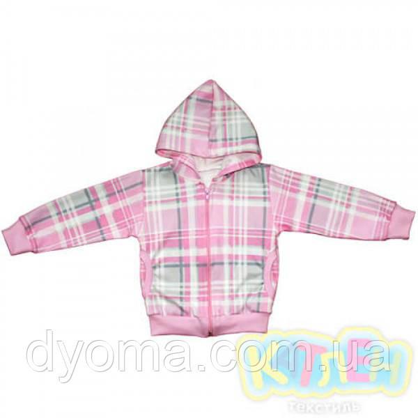 """Детская куртка """"Восторг"""" для девочек (интерлок)"""