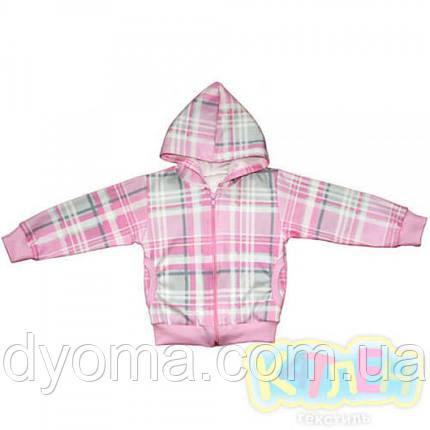 """Детская куртка """"Восторг"""" для девочек (интерлок), фото 2"""
