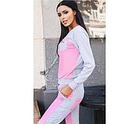 """Спортивный костюм """"Montana"""". Распродажа розовый+серый, 42-44"""