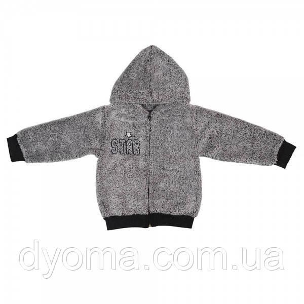 """Детская куртка """"Рябчик"""" для мальчиков (махра)"""