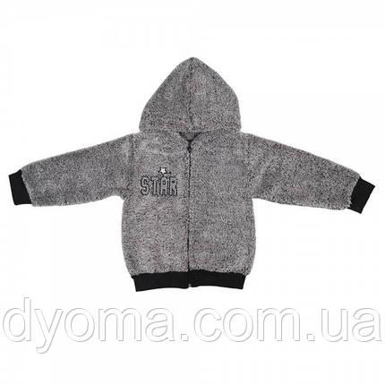 """Детская куртка """"Рябчик"""" для мальчиков (махра), фото 2"""