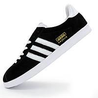 Кроссовки Adidas Gazelle черные. Топ качество! р.(38, 39, 40, 42, 43)