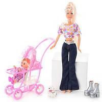 Кукла DEFA 20958 с дочкой, фото 1