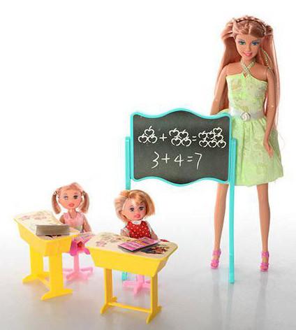Кукла DEFA 6065 Школа, фото 1