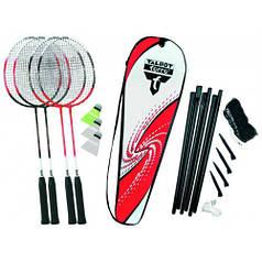 Бадминтон Talbot Torro Badminton Set 4 Attacker Plus