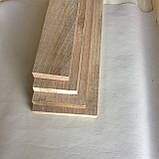 Доска дубовая сухая 20мм строганная, фото 4