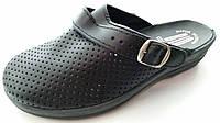 Сабо черные женские медицинская поварская обувь оптом, фото 1