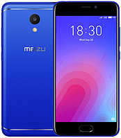 "Meizu M6 Blue 3/32 Gb, 5.2"", MT6750, 3G, 4G, фото 1"