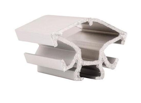 Торговий алюмінієвий профіль для вітрин і прилавків 3084