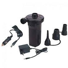 Потужний електричний насос HT-677/ JY-024 (220 вольт 12 вольт, Акумулятор)