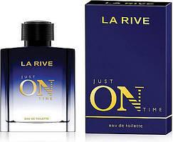 """Туалетна вода для чоловіків La Rive """"Just On Time"""" (100мл.)"""