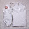 Набор для крещения Бантик+Princesa (айвори)