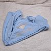 Детское полотенце с уголком Brilliant (голубое)