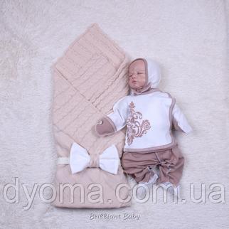Летний комплект Monogram + Глория (карамель), фото 2