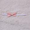 Бабочка галстук универсальная (персик)