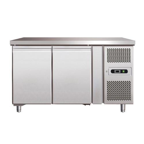 Стол морозильный 2-х дверный без борта COOLEQ GN 2100 BT