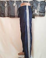 Мужские спортивные штаны эластик две полоски, фото 1