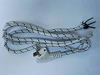 Шнур утюжный с вилкой с/з 2м ST 461