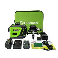 Зелёные лучи лазерный уровень (нивелир) Fukuda New 3D green