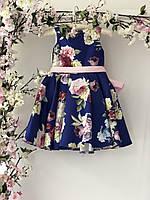 Детское короткое нарядное платье для девочек, фото 1