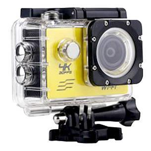 Экшн камера F60A R + ПОДАРОК: Настенный Фонарик с регулятором BL-8772A, фото 2