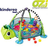 Детский развивающий коврик Черепаха марки Kindereo